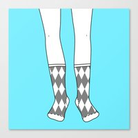 Socks for the Mr. Canvas Print
