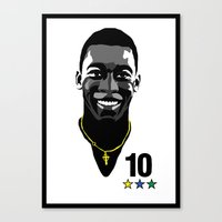 Pele - The Santos Years Canvas Print