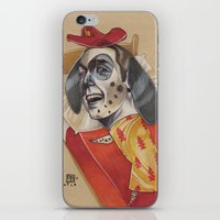 FIRE MARSHALL iPhone & iPod Skin