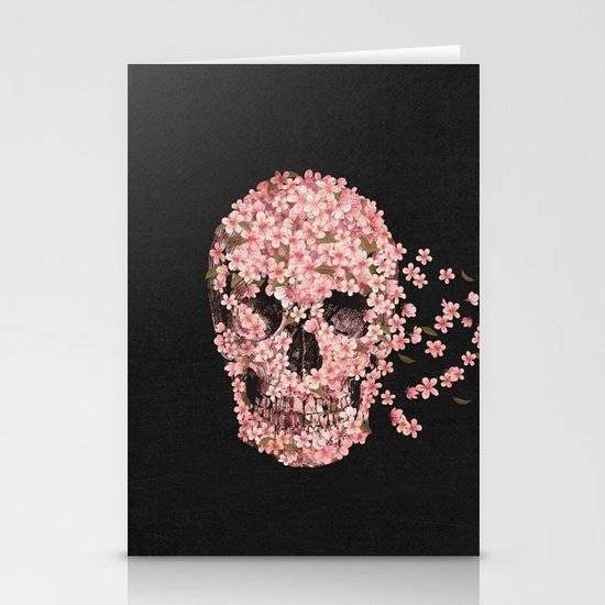 A Beautiful Death  Stationery Card