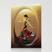 DANCERS - La Fiesta Stationery Cards
