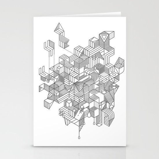 Simplexity Stationery Card