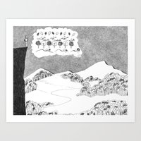 Big Picture, Small Picture Art Print
