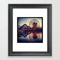 California Adventures Framed Art Print