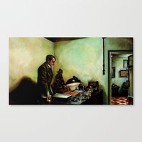 Hitler's Last Hour Canvas Print