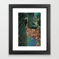 worlds in worlds Framed Art Print