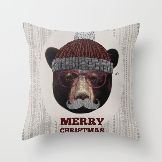 Gustav - Christmas Edition Throw Pillow