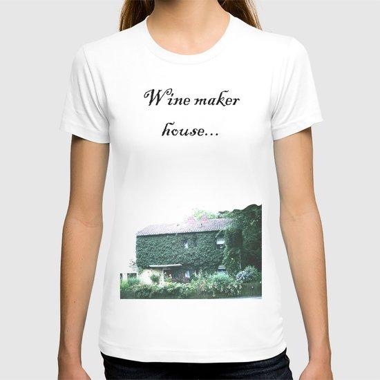Wine maker house T-shirt
