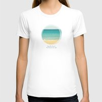 Enjoy This Moment Womens Fitted Tee White SMALL