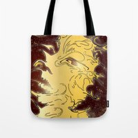 girl in the galaxy Tote Bag