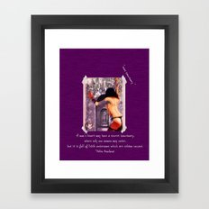 Suus Sanctuary  Framed Art Print