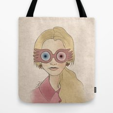Luna Lovegood Tote Bag