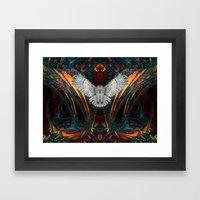 The Great Grey Owl Framed Art Print