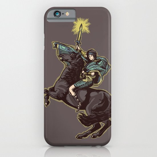 Crossing the forbidden lands iPhone & iPod Case