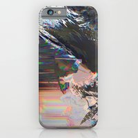 Glitched Landscape 1 iPhone 6 Slim Case