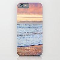 Vibrant Sunset over the Stacks at Huntington Beach, California iPhone 6 Slim Case