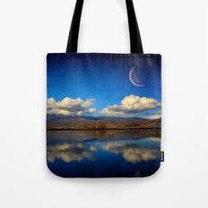 Epic Autumn Blues  Tote Bag