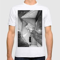 A Sliver of Hope Mens Fitted Tee Ash Grey SMALL