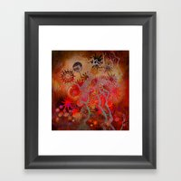 bewitched place Framed Art Print