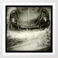 car Art Prints featuring car by Jean-François Dupuis