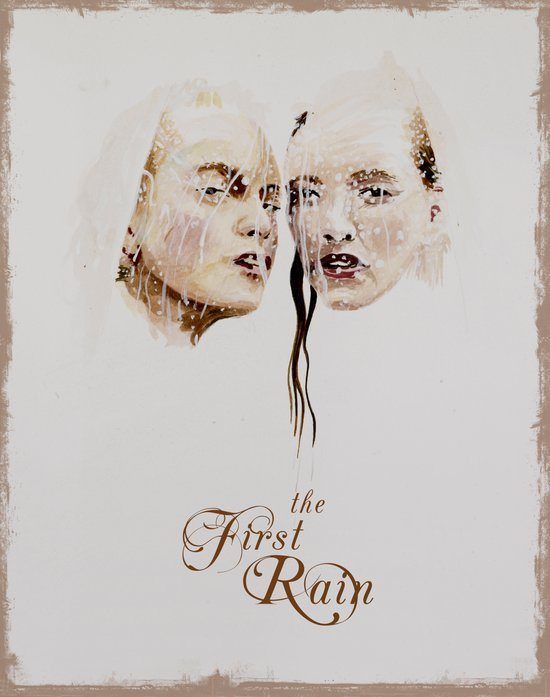 the first rain Art Print