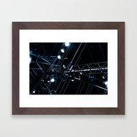 ray 10 Framed Art Print