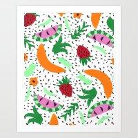 Fruit Party II Art Print