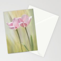 Twin Pinks Stationery Cards