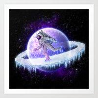 spaceskater Art Print