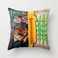 Old Roses -  Unbreakable… Throw Pillow