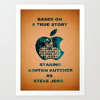 JOBS Movie Poster Art Print