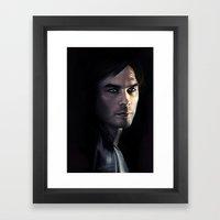 Damon Framed Art Print