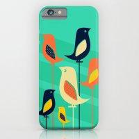 Mid Century Birds iPhone 6 Slim Case