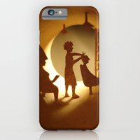 iPhone & iPod Case featuring Hairdressing salon (Salon de coiffure) by Anastassia Elias