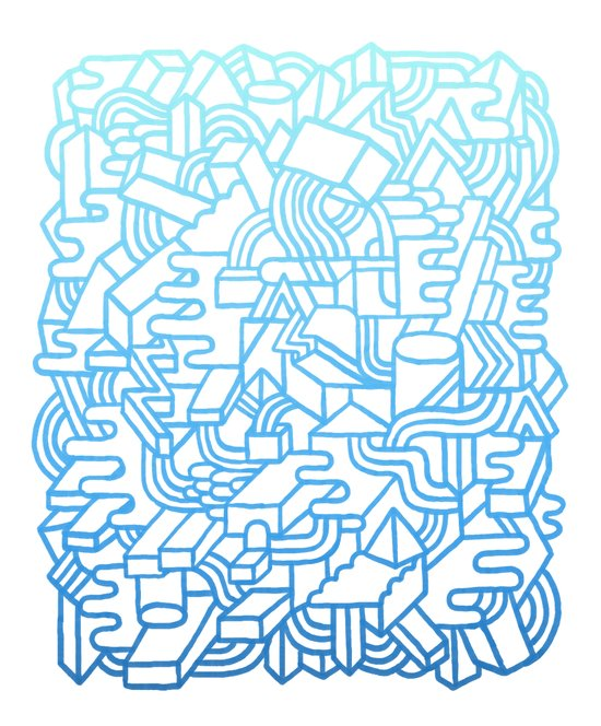 Wave Machine Art Print