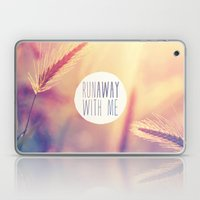 Purple Orange Retro Summer Romantic Sunset Photo Laptop & iPad Skin