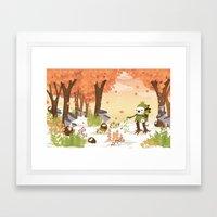 Cloudseeders Autumn Harvest Framed Art Print