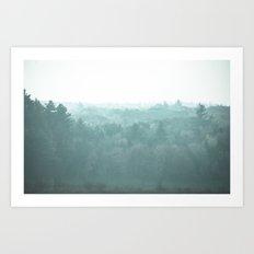 Respite Forest Art Print