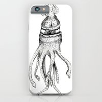 iPhone & iPod Case featuring Creature by DClemDesigns