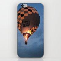 Night Time Flight iPhone & iPod Skin