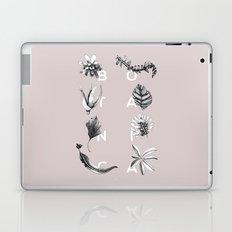 Botanica Letters   Powder Laptop & iPad Skin