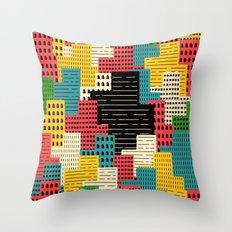 Buildingburgh Throw Pillow
