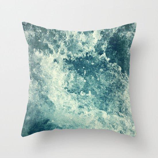 Water I Throw Pillow