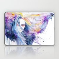 Big Bang In Watercolor Laptop & iPad Skin