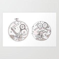 Pocket Watch Art Print