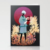 The tale of the Karma Demon Stationery Cards