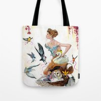 Lady of Spring Tote Bag