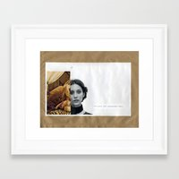 Present And Accounted Fo… Framed Art Print