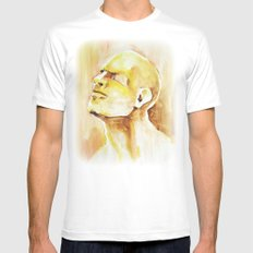Soul White Mens Fitted Tee SMALL