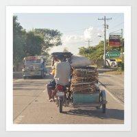 Next Stop: Manila... Art Print